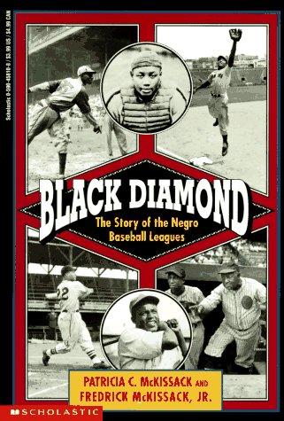 9780590458108: Black Diamond: The Story of the Negro Baseball Leagues