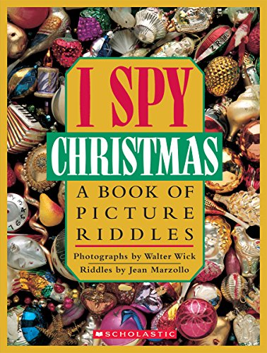 9780590458467: I Spy Christmas: A Book of Picture Riddles (Cartwheel books)