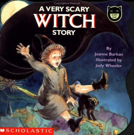 9780590459365: A Very Scary Witch Story (Cartwheel)