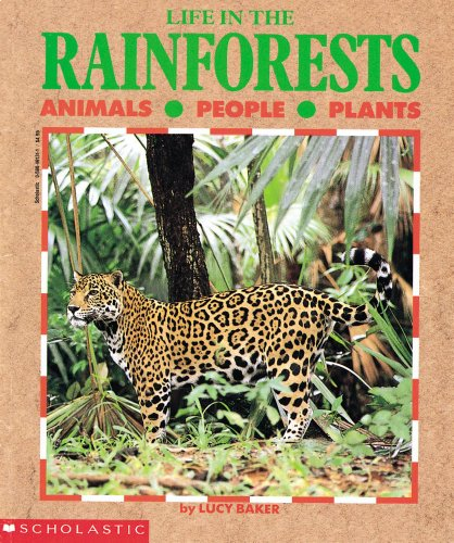 9780590461313: Life in the RainForests