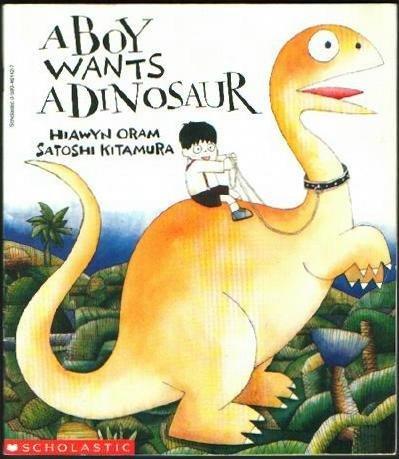 9780590461429: A Boy Wants a Dinosaur