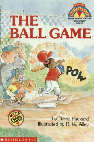The Ball Game (My First Hello Reader!) With Flash Cards
