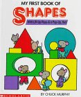 9780590463034: My First Book of Shapes: With Lift-Up Flaps & A Pop-Up, Too!