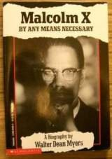 9780590464857: Malcolm X By Any Means Necessary