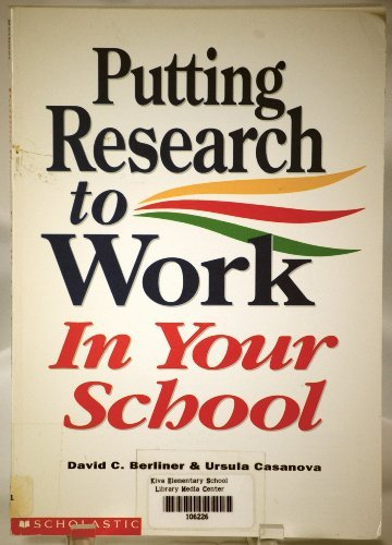 9780590465519: Putting Research to Work in Your School