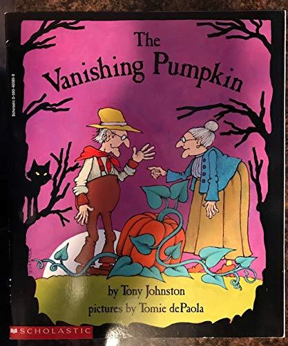 9780590465892: The Vanishing Pumpkin