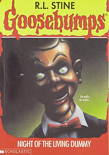 goosebumps and living dummy Goosebumps living dummy pin - creepy co - goosebumps - pins - beware, you're in for a scare based on the cover art of tim jacobus, slappy the dummy comes alive in this awesome enamel pin.