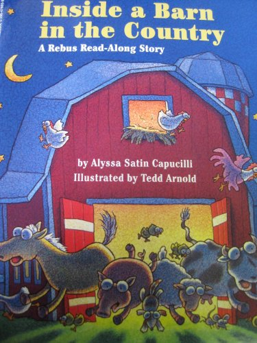 9780590470001: Inside a Barn in the Country: A Rebus Read-Along Story