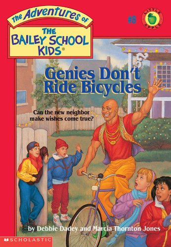 9780590472975: Genies Don't Ride Bicycles (The Adventures of the Bailey School Kids, #8)