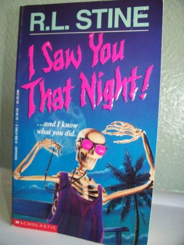 I Saw You That Night!: R. L. Stine