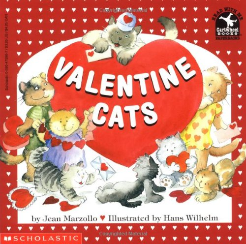 9780590475969: Valentine Cats (Read with Me Cartwheel Books (Scholastic Paperback))