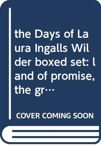 the Days of Laura Ingalls Wilder boxed: T. L. Tedrow