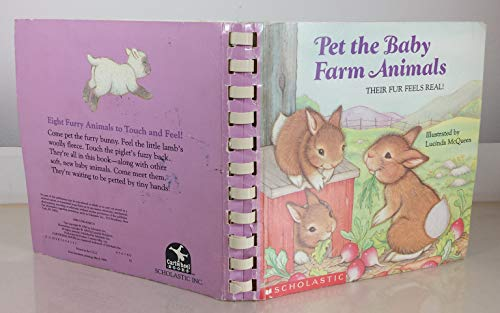 Pet the Baby Farm Animals (Touch and Feel Book): McQueen, Lucinda
