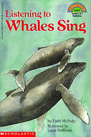 9780590478717: Listening To Whales Sing (Hello Reader (Level 4))