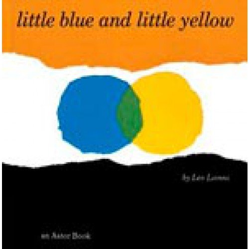9780590479424: little blue and little yellow