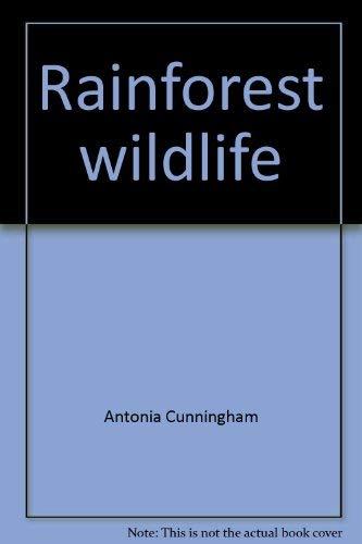 9780590480079: Rainforest wildlife (Usborne world wildlife)