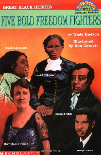 9780590480260: Great Black Heroes: Five Bold Freedom Fighters