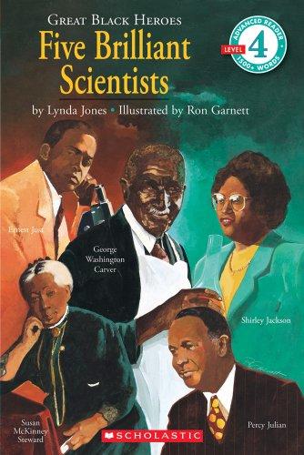 Scholastic Reader Level 4: Great Black Heroes: Jones, Lynda
