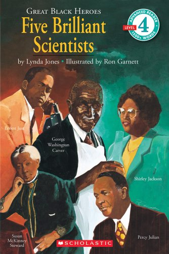 9780590480314: Scholastic Reader Level 4: Great Black Heroes: Five Brilliant Scientists: Five Brilliant Scientists (level 4)