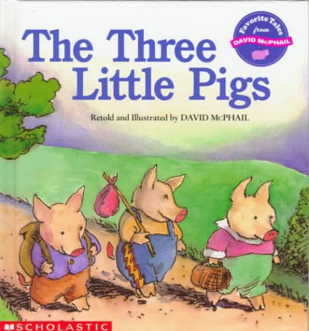 9780590481182: The Three Little Pigs (Favorite Tales from David McPhail)