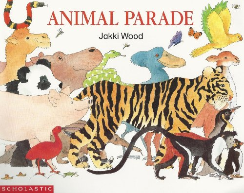9780590482189: Animal parade