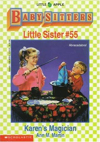 Karen's Magician (Baby-Sitters Little Sister) (0590482300) by Martin, Ann M.