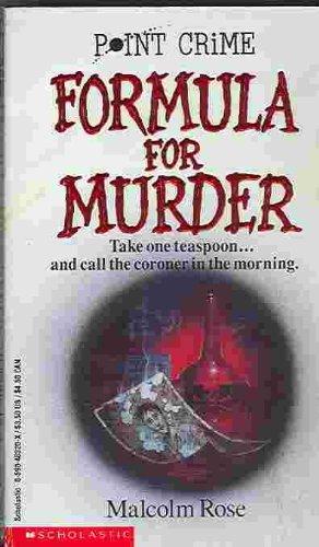 Formula for Murder (Point Crime): Rose, Malcolm