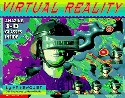 Virtual Reality/Book and 3-D Glasses