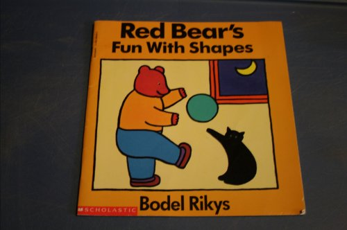 9780590486460: Red bear's fun with shapes