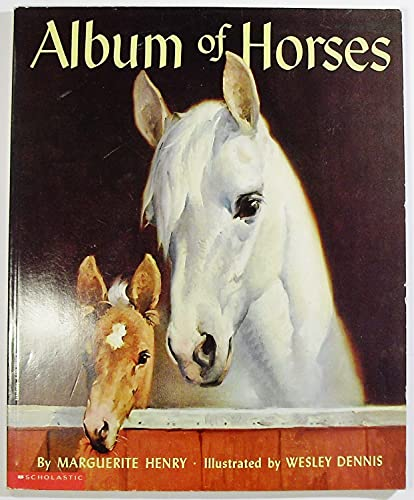 9780590486880: Album of Horses Edition: Reprint