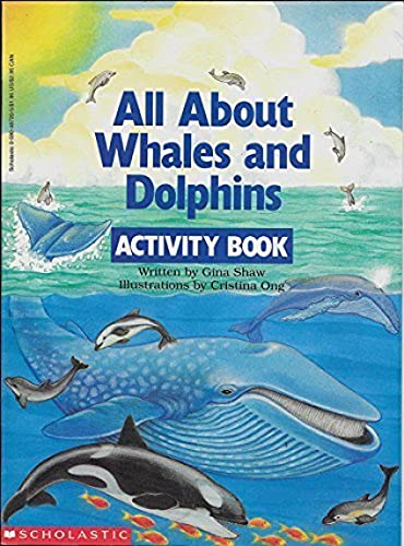 All about Whales and Dolphins Activity Book