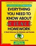 9780590487801: Everything You Need to Know About Science Homework