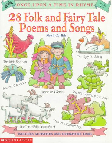9780590488013: Once upon a Time in Rhyme: 28 Folk and Fairy Tale Poems and Songs (Instructor Books)