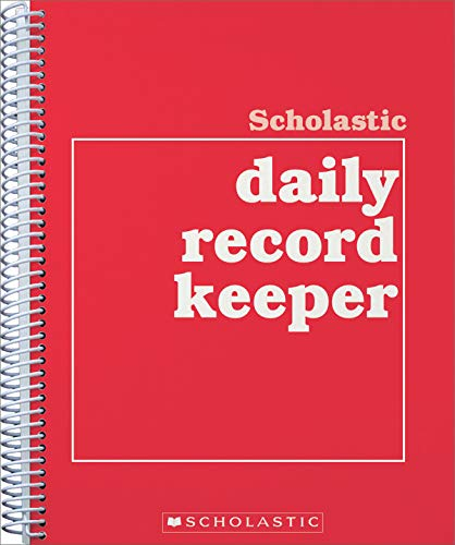 9780590490689: Scholastic Daily Record Keeper