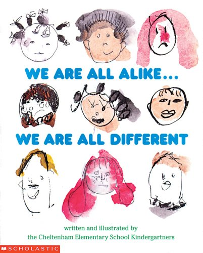 9780590491730: We Are All Alike... We Are All Different