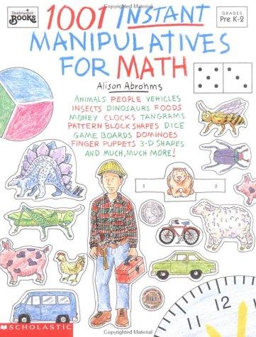 9780590492386: 1001 Instant Manipulatives for Math (Grades K-2)