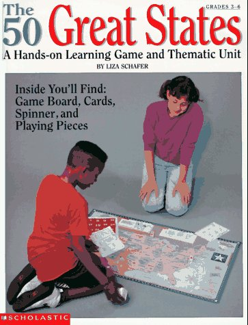9780590493413: The 50 Great States: A Hands-On Learning Game and Thematic Unit