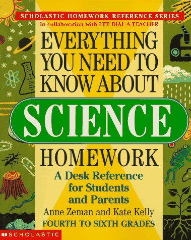 9780590493574: Everything You Need To Know About Science Homework (Everything You Need To Know..)