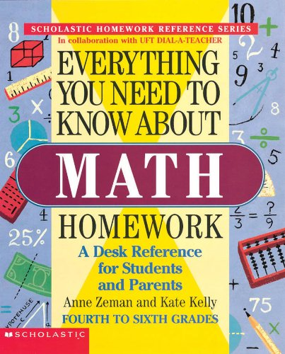 9780590493598: Everything You Need To Know About Math Homework (Evertything You Need To Know..)