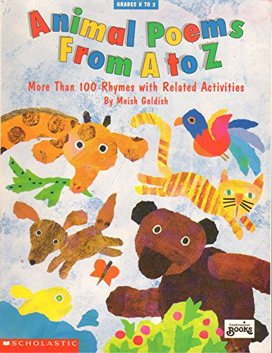 9780590497411: Animal Poems from A to Z
