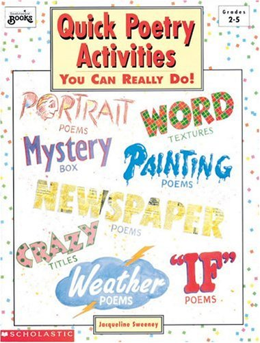 QUICK POETRY ACTIVITIES : You Can Really Do!