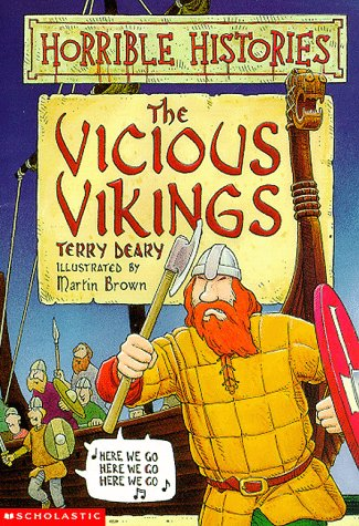 9780590498494: The Vicious Vikings (Horrible Histories)