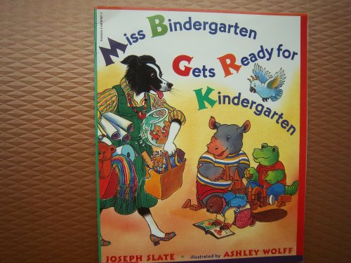 9780590514675: Miss Bindergarten Gets Ready for Kindergarten (Scholastic big books)