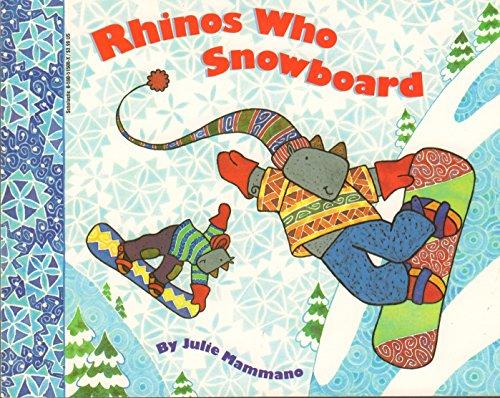 9780590515085: Rhinos who snowboard