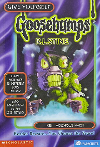 Hocus-Pocus Horror (Give Yourself Goosebumps, No 35): R. L. Stine