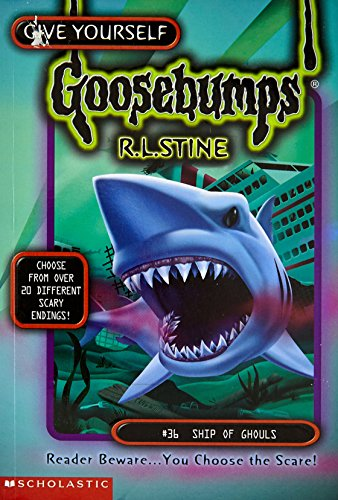 9780590517232: Ship of Ghouls (Give Yourself Goosebumps, No 36)
