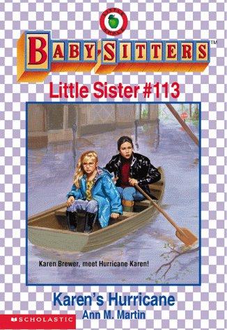Karen's Hurricane (Baby-Sitters Little Sister): Martin, Ann Matthews