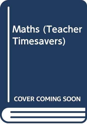 9780590530033: Maths (Teacher Timesavers)
