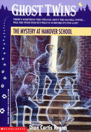 9780590538848: The Mystery at Hanover School (Ghost Twins No. 7)