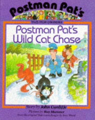 9780590540117: Postman Pat's Wild Cat Chase (Postman Pat Tales from Greendale S.)